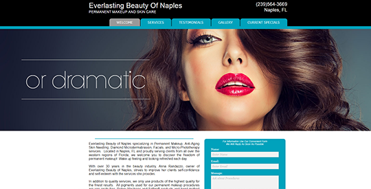Everlasting Beauty of Naples FL - Permanent Makeup