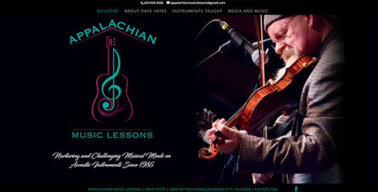 Appalachian Music Lessons - Johnson City TN