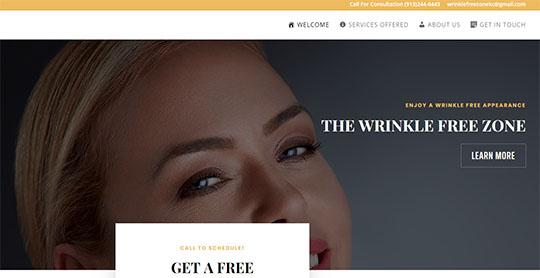 Wrinkle Free Zone